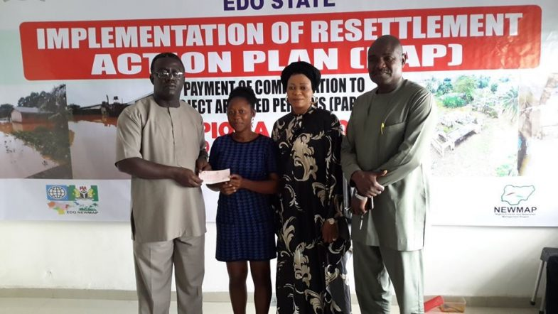 IMPLEMENTATION OF RESETTLEMENT ACTION PLAN BEGINS IN GAPIONA AND URORA NEWMAP SITES, EDO STATE