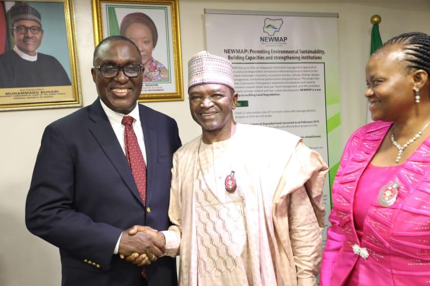 World Bank regional Director for Africa for sustainable development, Dr. Simeon Ehui visits Nigeria