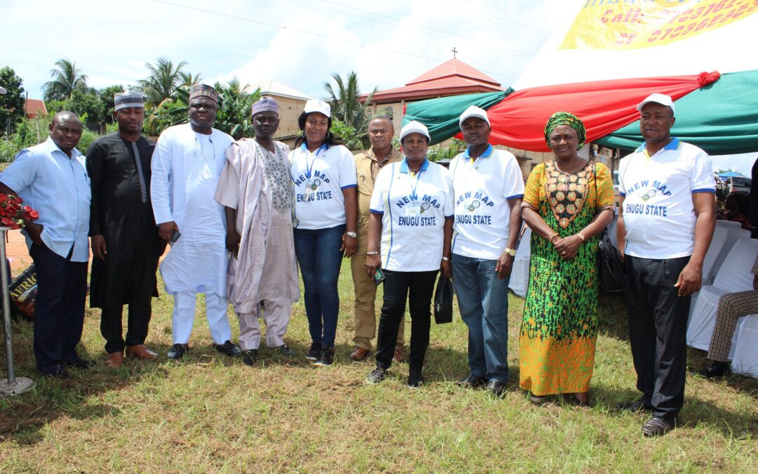 ENUGU NEWMAP, 30:8:2018 Commissioning Ceremony of 9th Mile and Ajali Water works Gully Erosion sites and the Dedication of the Ultra-modern Enugu NEWMAP office