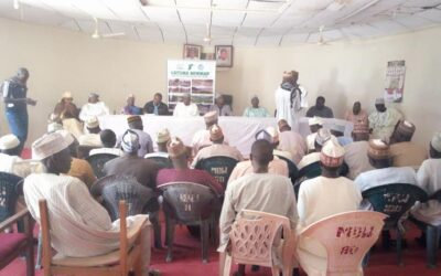 At Maiadua, where the inauguration of desk officer and site Committee members took place under the leadership of the katsina NEWMAP Project Coordinate Engr Ashiru Mohammed. The Committee members would assist in seeing that activities of Newmap are going on smoothly in Maiadua Local Government area.