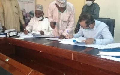KATSINA NEWMAP SIGNS CONTRACT ON EROSION CONTROL PROJECTS
