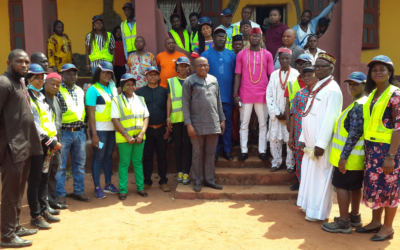 EXCITEMENT IN EMU-OHORDUA COMMUNITY AS NEWMAP MOVES TO RESTORE DEGRADED LANDSCAPE
