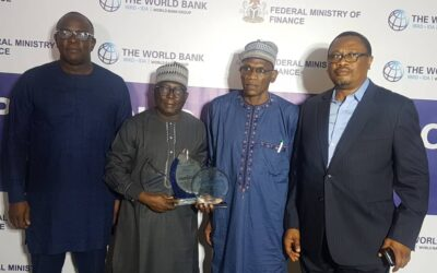 NEWMAP Receives Best Performing Project in the World Bank Portfolio In Nigeria